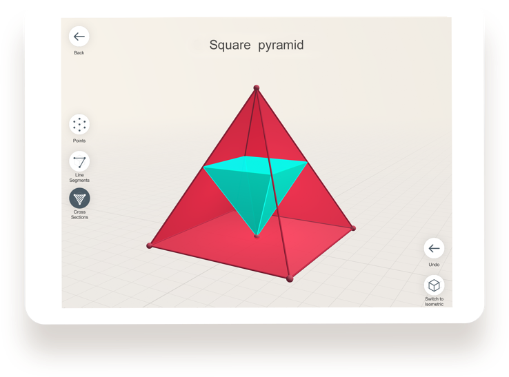 Shapes 3D Geometry Drawing