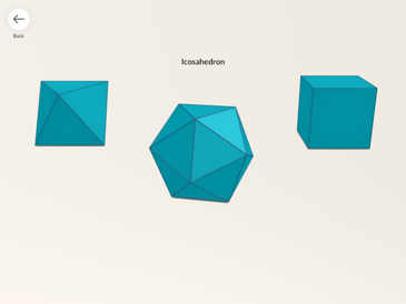 Explore 27 shapes: prisms, pyramids and Platonic solids